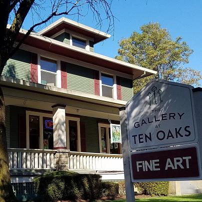 Exterior of Gallery at Ten Oaks McMinnville Oregon