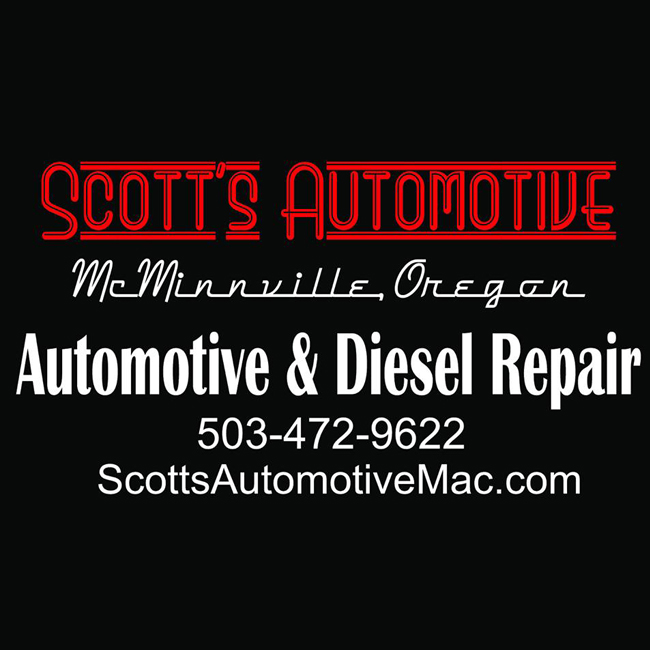 Scott's Automotive McMinnville Oregon