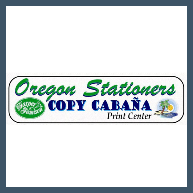 Oregon Stationers Copy Cabana McMinnville Oregon