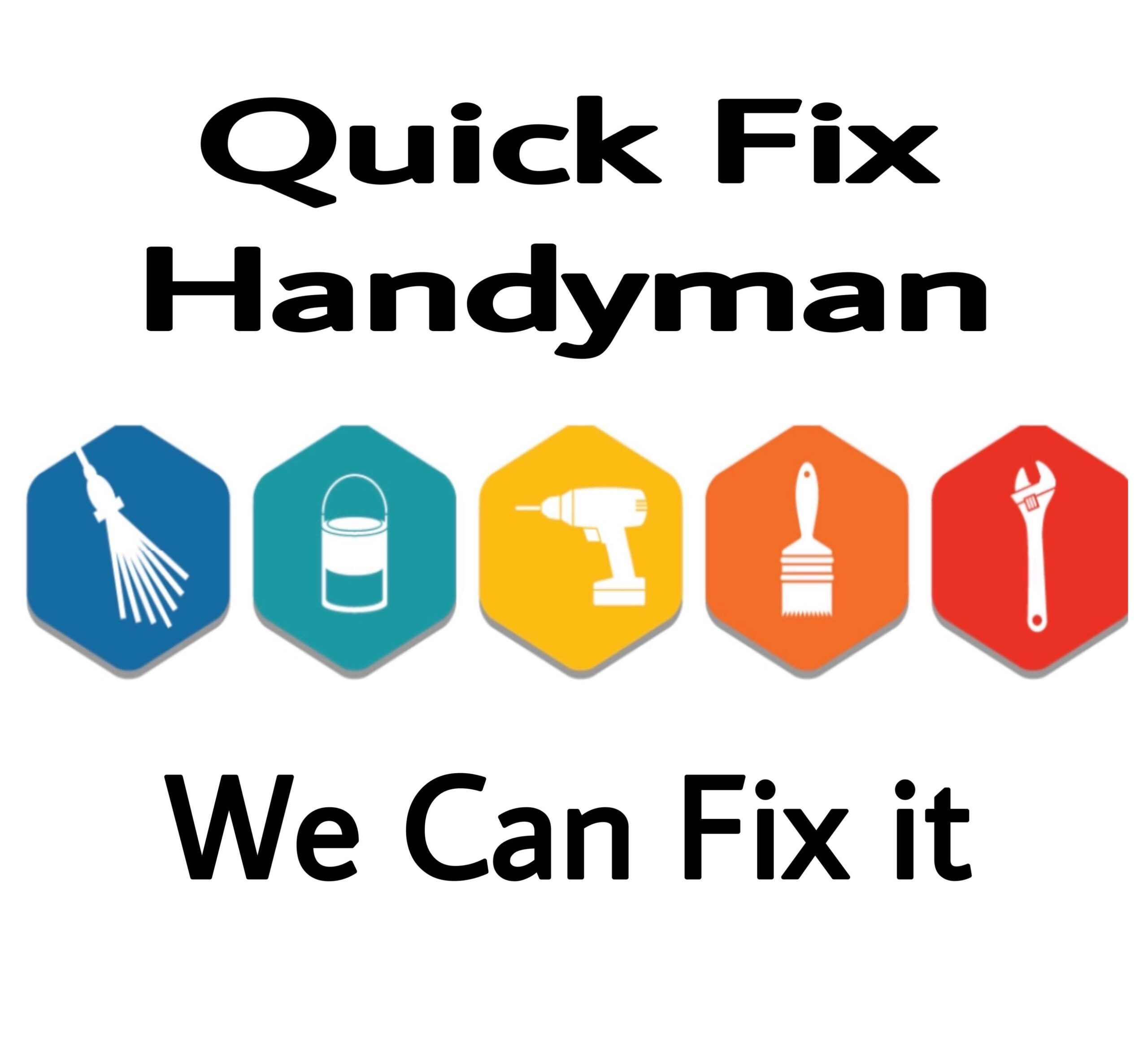 Logo for Quick Fix Handyman McMinnville Oregon